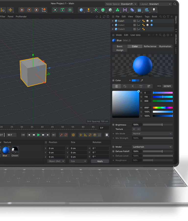 Adore Cinema 4d With The New Interface